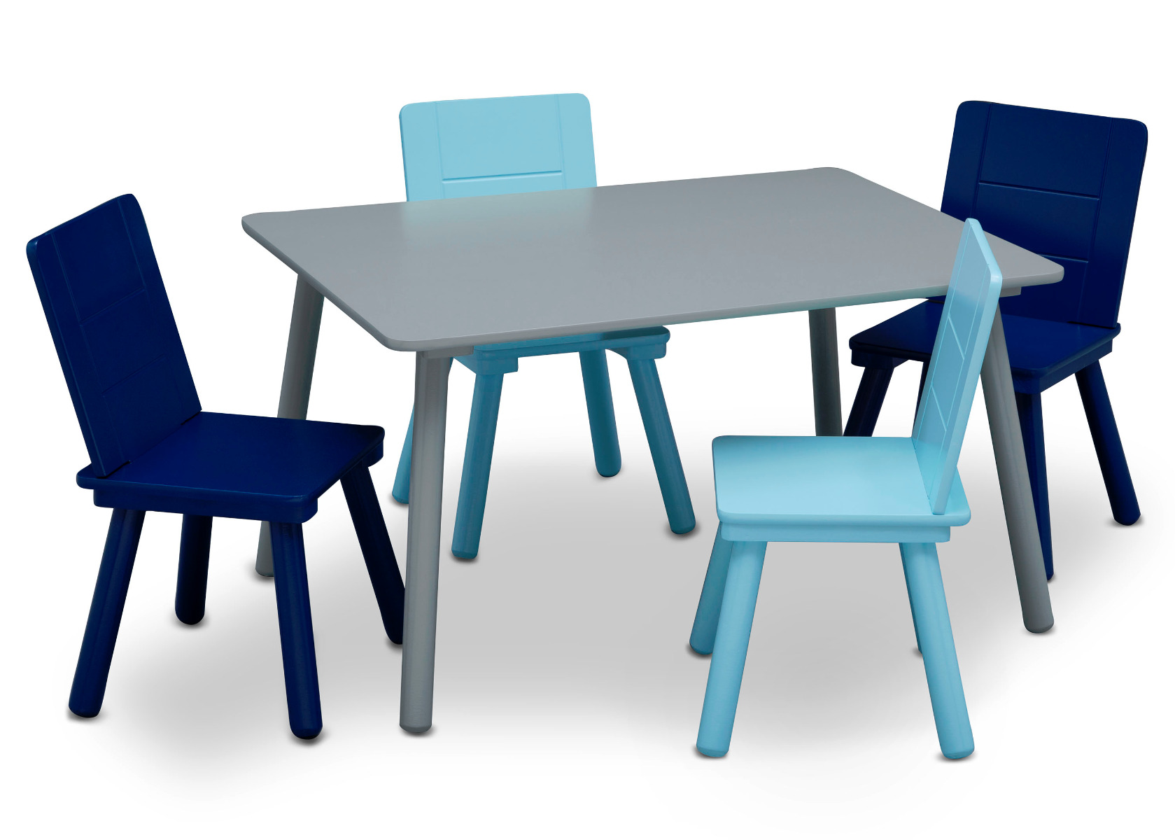 Table And Chairs - Blue