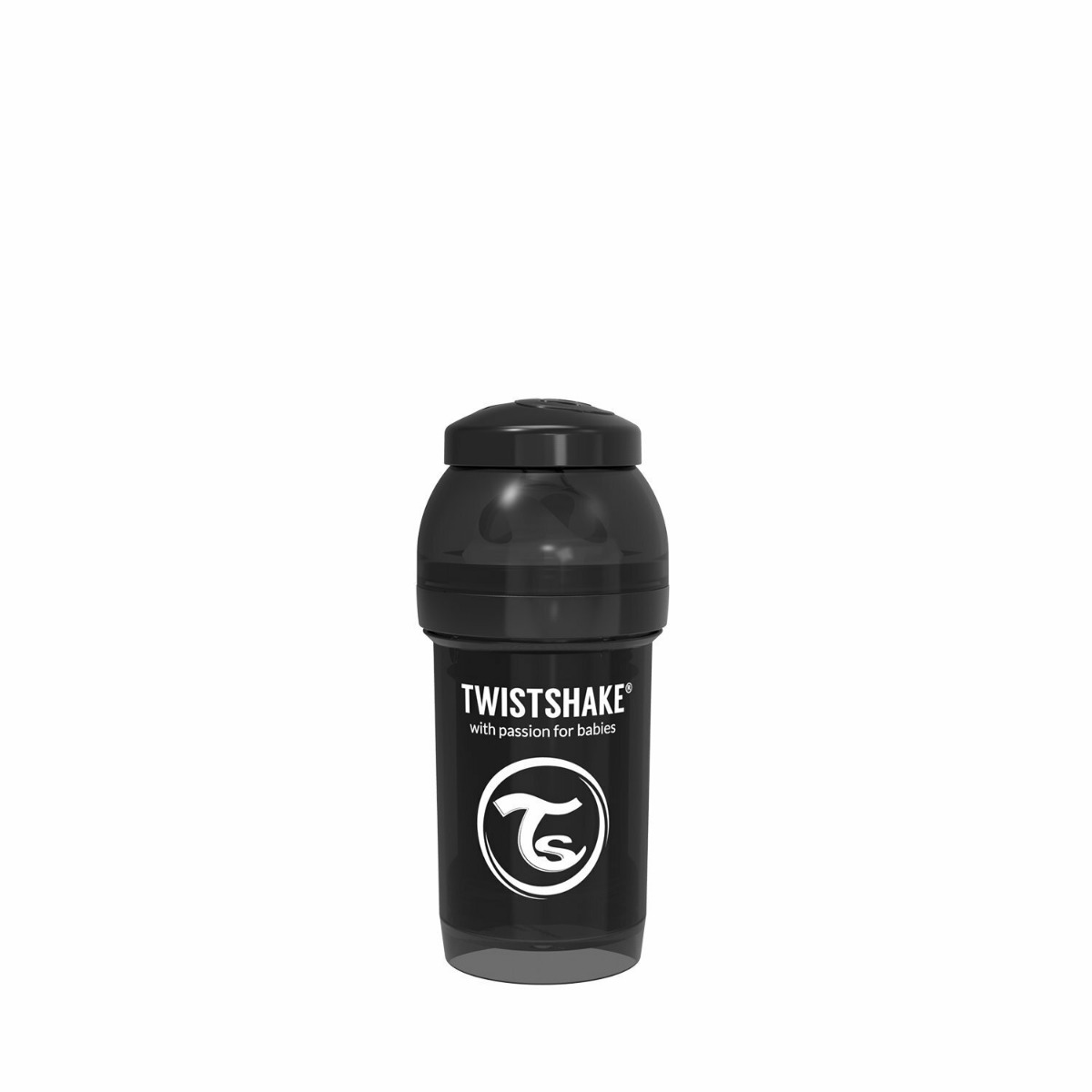Twistshake Anti-Colic 180ml Black