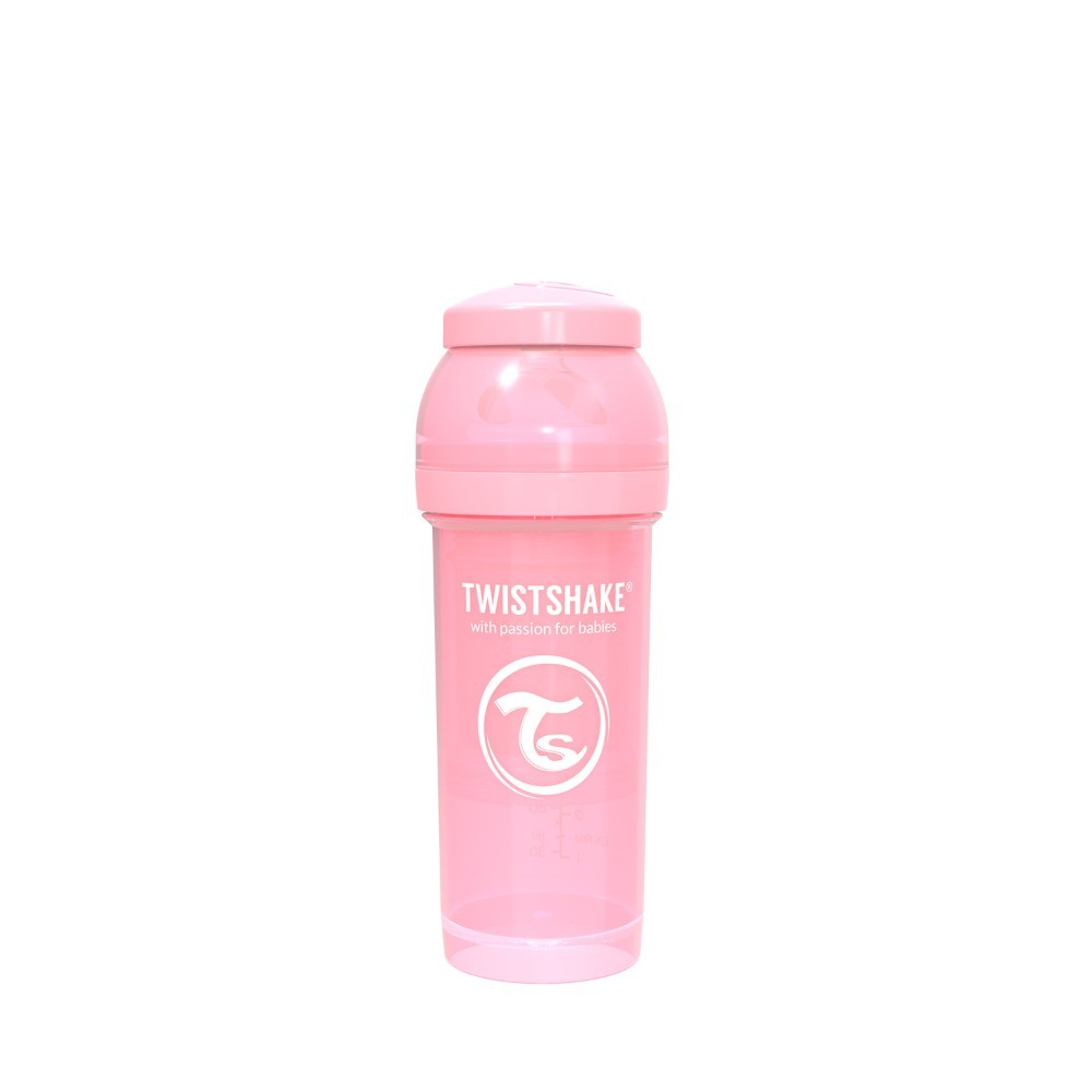 Twistshake Anti-Colic 260ml Pastel Pink