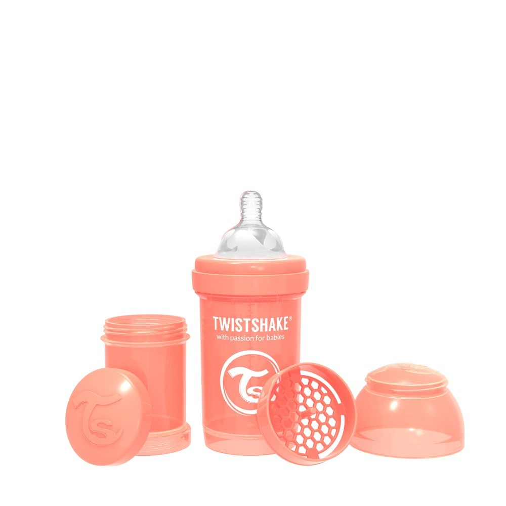 Twistshake Anti-Colic 180ml Pastel Peach
