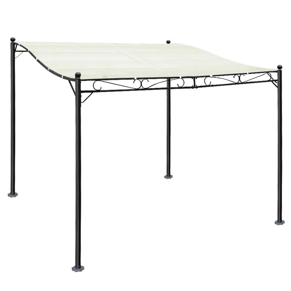 Instahut 3x2.5m Gazebo Party Wedding Marquee Tent Shade Iron Art Canopy Camping