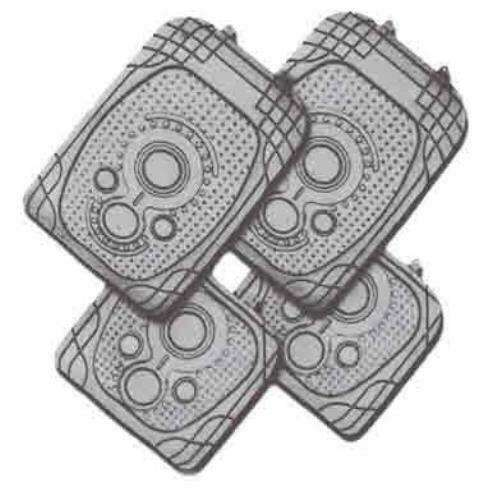 SPECTRUM 4-Piece Car Mat - GREY